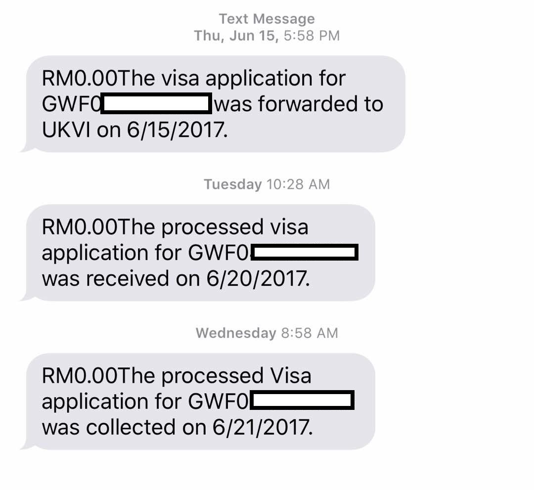 Vfs Uk Visa Tracking Sms - Visa Processing Times