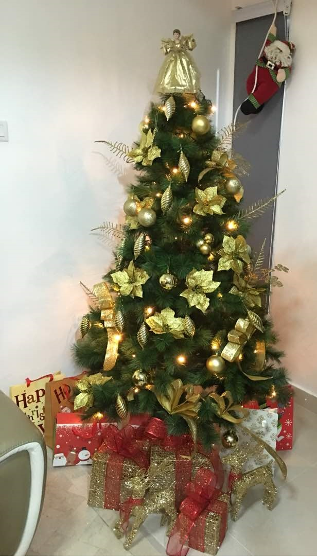 My Christmas Tree Is Up Nishlovepink